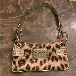 Guess leopard mini bag